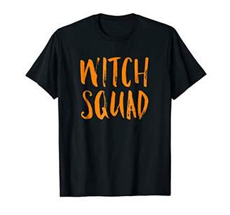 Witch Squad Funny Halloween Trick or Treat T Shirt Costume