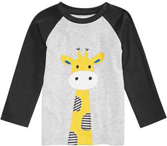 First Impressions Baby Boys Giraffe Graphic T-Shirt