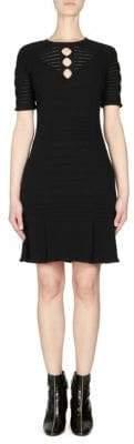 Kenzo Lacehole A-Line Dress