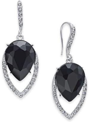 INC International Concepts I.n.c. Crystal Halo Drop Earrings