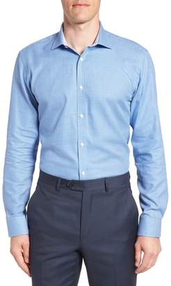 Ted Baker Phonbox Trim Fit Check Dress Shirt