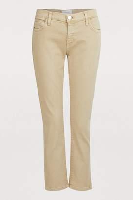Current/Elliott Current Elliott Cropped straight jeans
