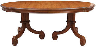 One Kings Lane Vintage Provençal Double Pedestal Table