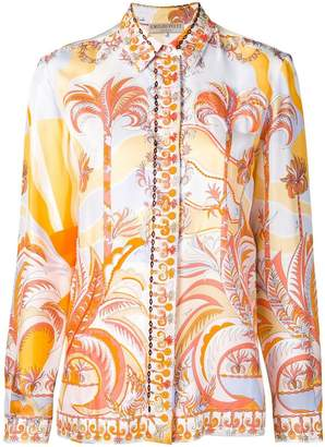 Emilio Pucci palm tree shirt
