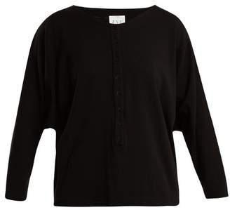 Eve Denim - Camille Batwing Sleeved Top - Womens - Black