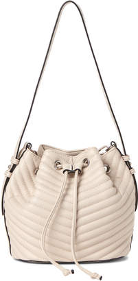Steve Madden Marge Quilted Drawstring Shoulder Bag