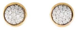 Syna 18K Diamond Small Baubles Stud Earrings