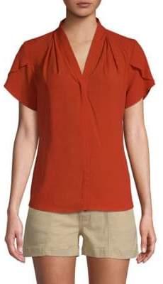 Calvin Klein Tulip-Sleeve Top