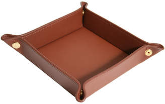 Royce Genuine Leather Catchall Valet Tray