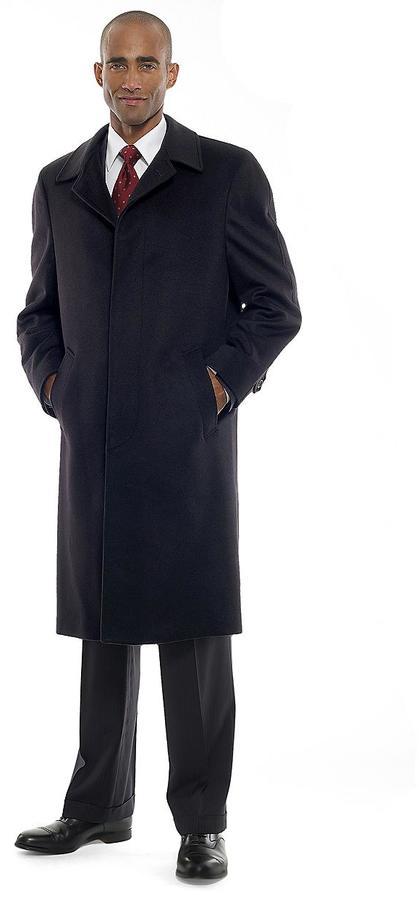 Brooks Brothers Cashmere Split Raglan Overcoat