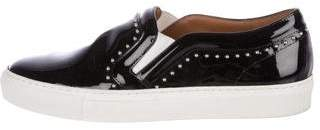 Givenchy Patent Leather Slip-On Sneakers
