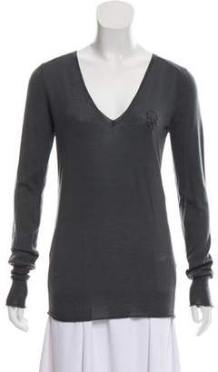 Zadig & Voltaire Wool V-neck Sweater