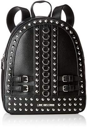 Love Moschino Borsa Pebble Grain Pu, Women's Backpack Handbag,10x28x23 cm (B x H T)