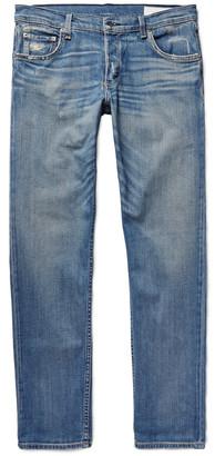 Slim-Fit 2 Distressed Stretch-Denim Jeans $250 thestylecure.com