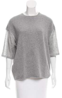 Giambattista Valli Wool & Cashmere-Blend Top
