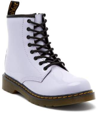 Dr. Martens Delaney Purple Air Wair Boot (Little Kid & Big Kid)