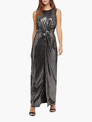Phase Eight Dahlia Maxi Dress, Silver
