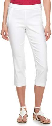 Elle Women's Pull-On Capri Pants