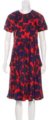 Marc by Marc Jacobs Floral Midi Dress