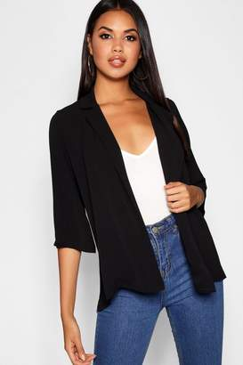 boohoo Loose Fit Collared Jacket