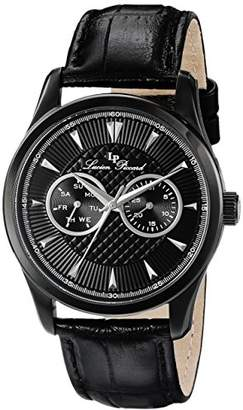 Lucien Piccard Men's LP-12761-BB-01-SA Stellar Analog Display Japanese Quartz Watch