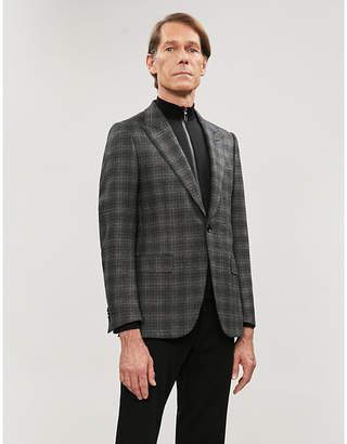 Ermenegildo Zegna Regular-fit checked wool blazer