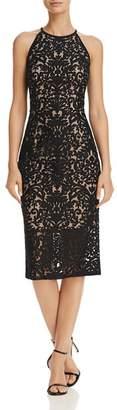 Aqua Damask Lace Dress - 100% Exclusive