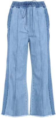 LUCKY CHOUETTE Denim pants - Item 42538976XA