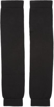 Rick Owens Black Leg Warmers $185 thestylecure.com