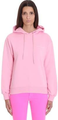 Chiara Ferragni Sweatshirt In Rose-pink Cotton