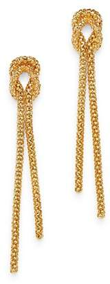 Bloomingdale's Beaded Knot Drop Earrings in 14K Yellow Gold - 100% Exclusive