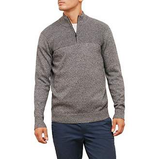 Kenneth Cole New York Men's Solid and Marled 1/2 Zip Sweater