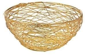 Godinger Nest Medium Stainless Steel Wire Bowl