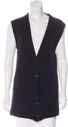 Jenni Kayne Sleeveless Button-Up Cardigan