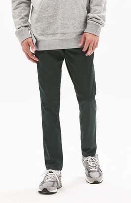 Pacsun PacSun Slim Fit Basic Green Chino Pants