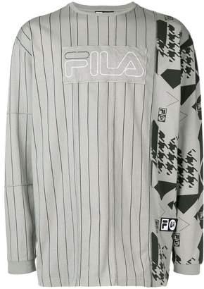 Fila Liam Hodges LIAM HODGES X logo patch printed sweatshirt
