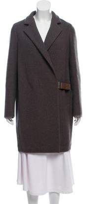 Brunello Cucinelli Wool & Cashmere Knee-Length Coat