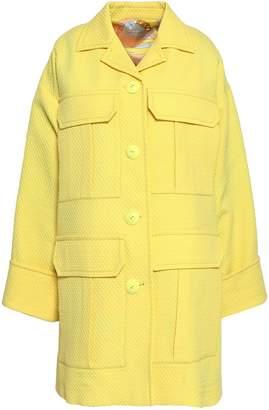 Emilio Pucci Cotton-blend Jacquard Coat