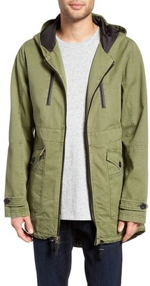 Men's Civil Society Castro Hooded Canvas Jacket $155 thestylecure.com