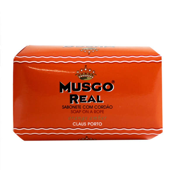 Musgo Real Orange Amber Soap on a Rope by 6.7oz Soap)