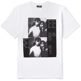 Raf Simons Slim-Fit Printed Cotton-Jersey T-Shirt