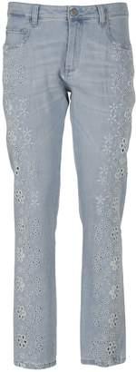 Ermanno Scervino Floral Jeans