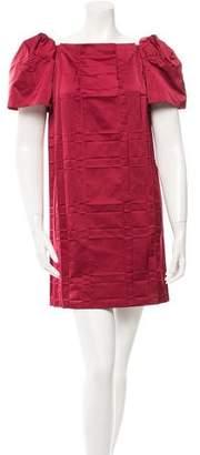 Marc Jacobs Satin Shift Dress