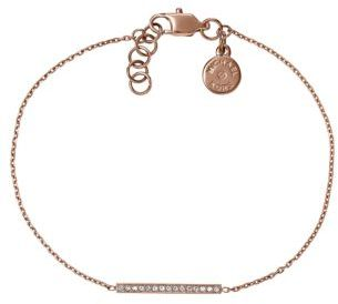 Michael Kors Rose Gold Tone and Crystal Bracelet