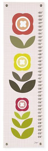 Modern Bloom Growth Chart