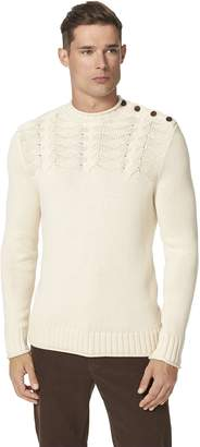 Tommy Hilfiger Men's Michael Crew Neck Cable Sweater