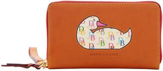 Dooney & Bourke Duck Florentine DB75 Zip Around Phone Wristlet