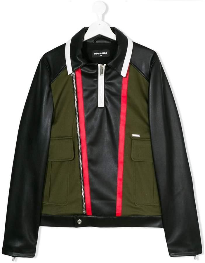 teen leather moto jacket