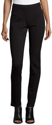 Nic+Zoe Perfect Ponte Slim Pants, Black Onyx, Plus Size