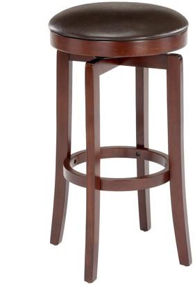 Hillsdale Furniture Malone Backless Swivel Bar Stool